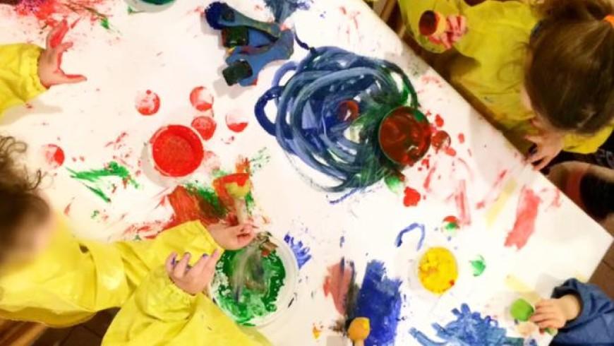 Verde, Rosso, Blu e…..si colora !!!